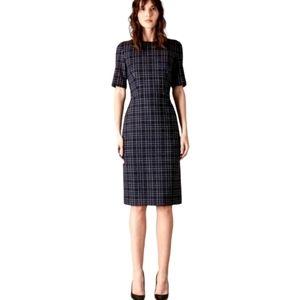 New Judith & Charles Navy Tweed Phoebe Dress